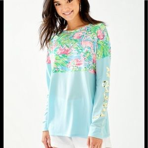 NWT Lilly Pulitzer Finn Tee in floridita size S